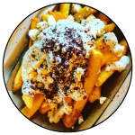 French Fries, Kurdish Kitchen Cuisine, Bainbridge Island food truck restaurant