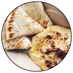 Hummus and Pita, Kurdish Kitchen Cuisine, Bainbridge Island food truck restaurant